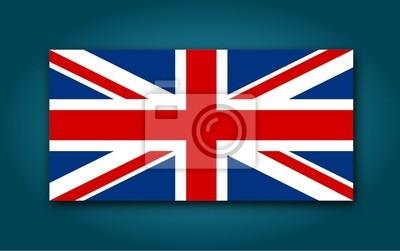 Bandera de Reino Unido - Ilustración