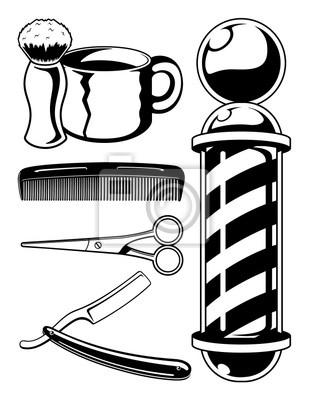 Barber Shop Set