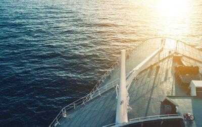 Póster Barco de cruceros
