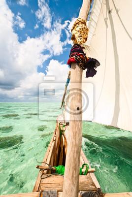 barco de vela tradicional