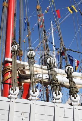 bateau, bateaux, bretagne, voile, voilier, vieux, CUERDOS
