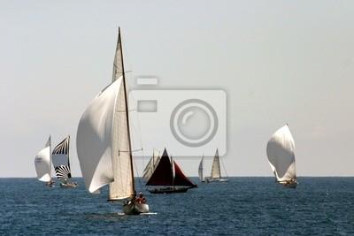 bateau voilier puerto régate mer Méditerranée costa azul provence