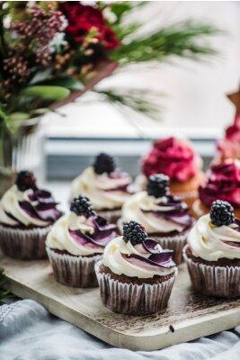 Póster Baya cupcakes