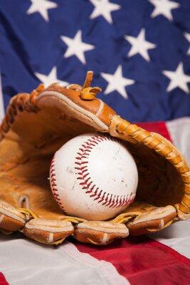 Póster Béisbol americano
