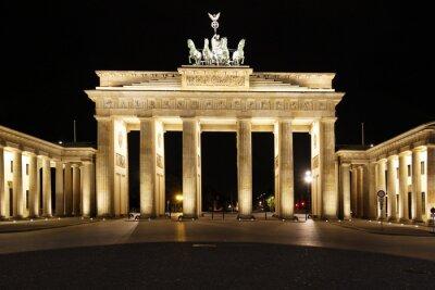 Póster Berlín - Puerta de Brandeburgo