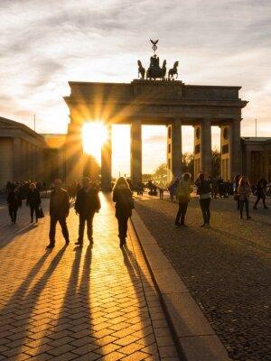 Póster Berlín, Puerta de Brandenburgo