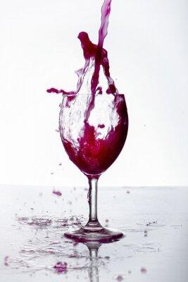 Póster Bicchiere di Vino