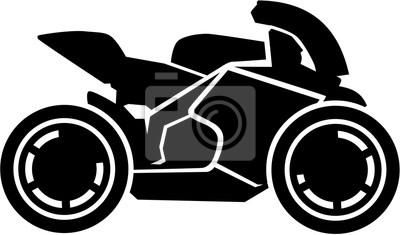 Bicicleta de carreras de motos
