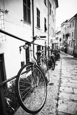 Póster Bicicleta nel vicolo