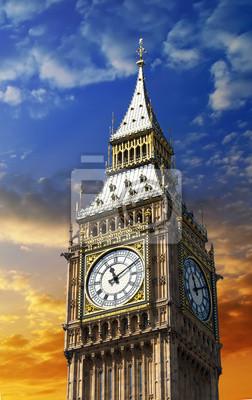 Big Ben, el reloj de la torre en Londres