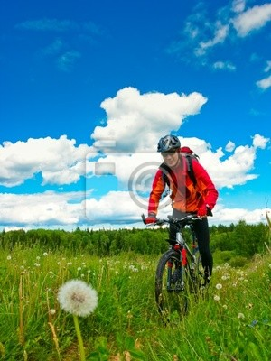 Biker Cross-country
