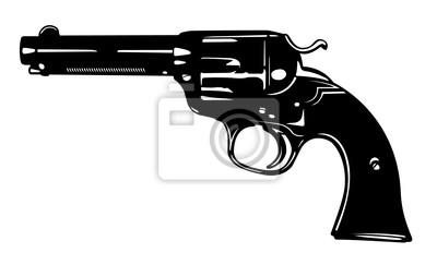 Blanco y Negro Pistola