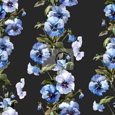 Blue flowers 1