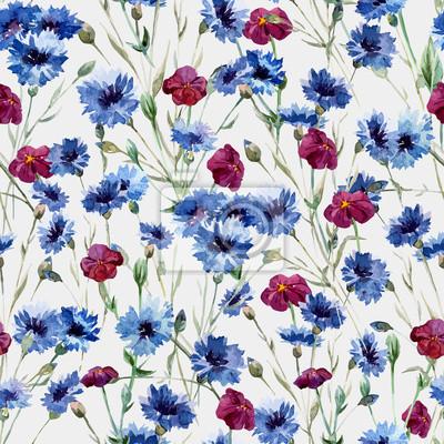 Blue flowers 10