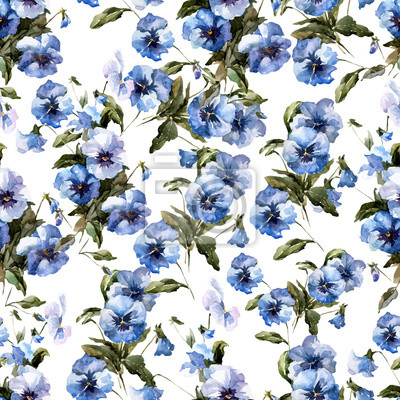 Blue flowers 3