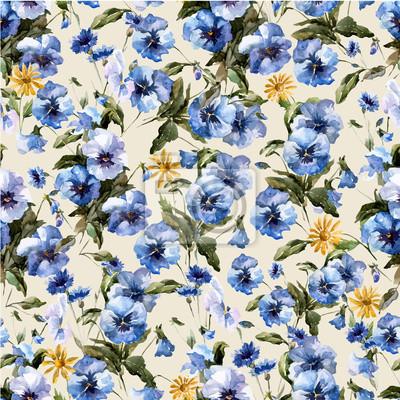 Blue flowers 5