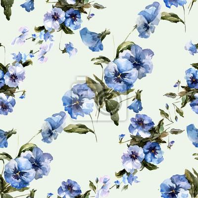 Blue flowers 6