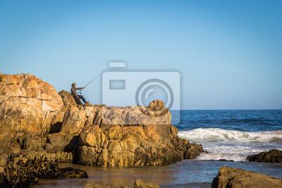 Bonita playa en Sudáfrica