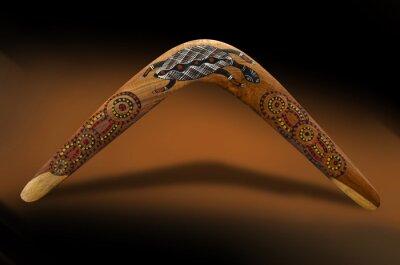 Póster Boomerang australiano