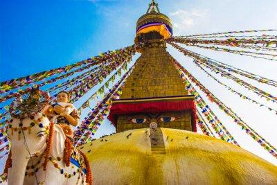 Póster Bouddhanath Stupa, Katmandú, Nepal
