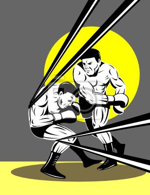 Boxer noquear oponente