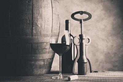 Póster buen vino