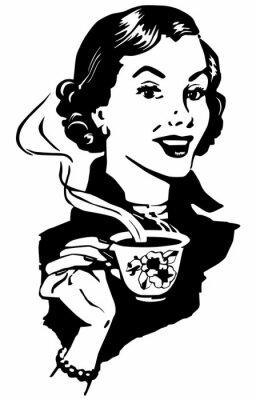 Póster Café Señora