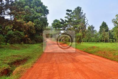 Camino en Uganda, África