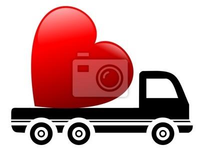 Camiones y corazón
