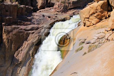 Cañón del río Oranje y el desierto de piedra