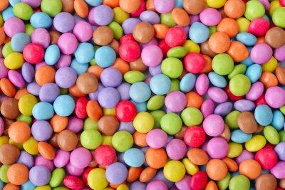 Póster Caramelos multicolores