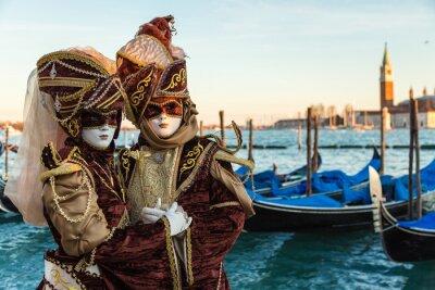 Póster Carnevale Venezia