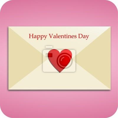 Carta de amor para el día de San Valentín