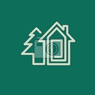 casa inmobiliaria símbolo