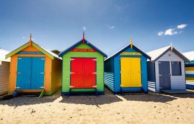 Póster Casas Brighton Bay Beach