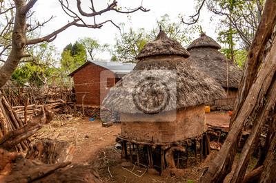 Casas de Konso tribu