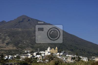 Casas de Vincenzo, al pie del volcán