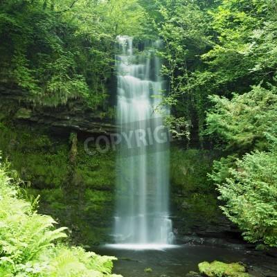 Póster Cascada de Glencar, Condado de Leitrim, Irlanda