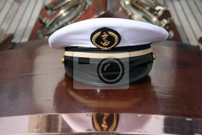 casquette, capitaine, voilier, voile, bateau, comandante