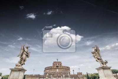 Castel Sant'Angelo desde el puente del mismo nombre