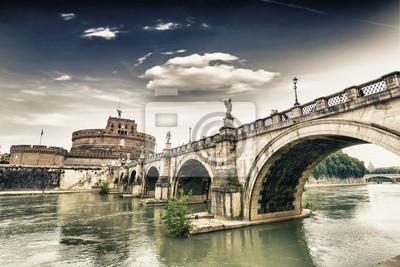 Castel Sant'Angelo y su puente.