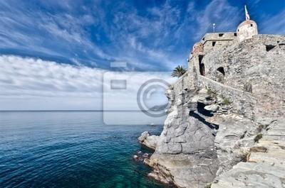 Castillo de Camogli, Italia