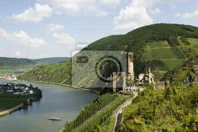 Castillo de Metternich en el valle del Mosela