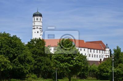 Castillo Dillingen desde el sur