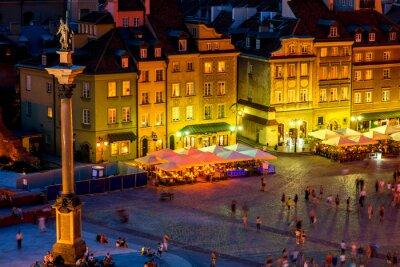 Póster Castle square in Warsaw