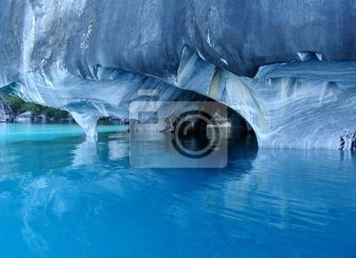 Cavernas de Mármol. Lago General Carrera.