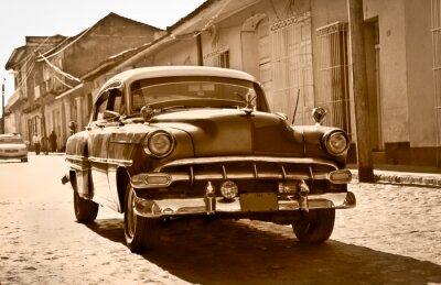 Póster Chevrolet Classic en Trinidad, Cuba