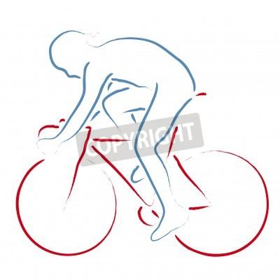 Póster ciclista