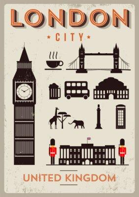 Póster Ciudad Poster Design Londres