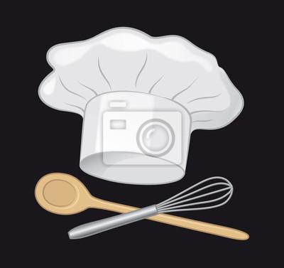 089a67050c4b9 Póster Cocinar - Gorro de chef